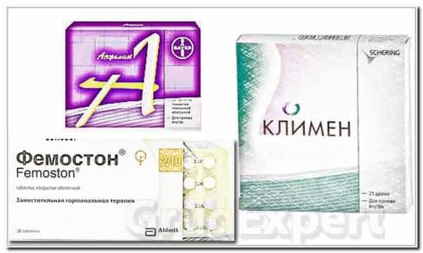 гормоны с эстрогенами и прогестероном