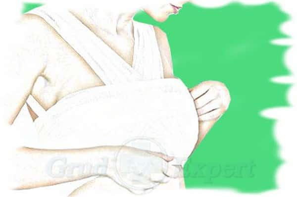 ушиб груди повязка